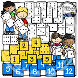 Domino Clipart and Dice Clipart