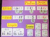 Japanese verb Plain Form