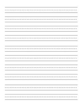 Plain Handwriting Paper