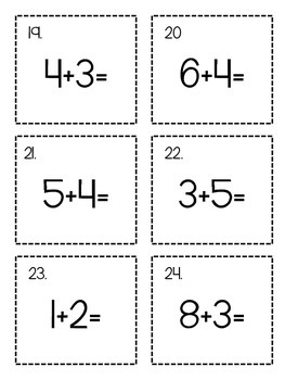Plain Jane  - 35 Math Centers or Math Task Cards