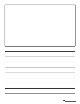Plain Lined Writing Paper (3 styles)