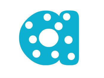 Plain Polka Dotted Letters for Commercial and Non-Commercial Use