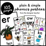 Plain & Simple Phonics Posters