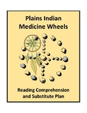Plains Indian Medicine Wheels - Reading Comprehension and Substitute Plan