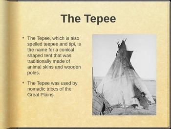 Plains Indian Tipi Lesson