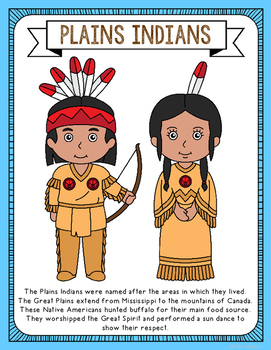 Native American Coloring Pages - Best Coloring Pages For Kids | 350x271