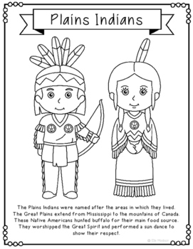 native american history coloring pages - photo#13