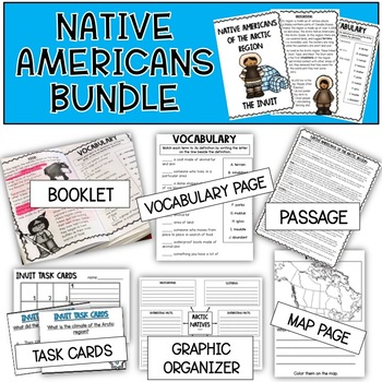 Plains Native Americans Bundle
