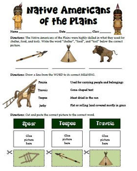 Plains Native Americans Modified Research