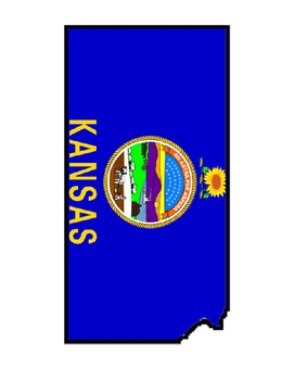 Plains States United States Flag Maps
