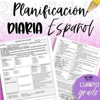 Plan - 4to grado ESP