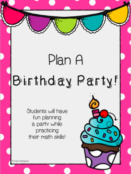 Plan A Birthday Party!