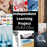 Plan A Student Choice Project (distance learning compatible)