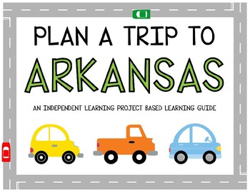 Plan A Trip to Arkansas - Project Based Learning Activity