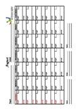 Plan Ahead Calendar (Page 2-13)