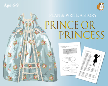 Plan And Write A Prince Or Princess Story (6-9 years)