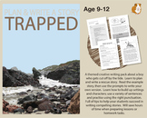 Plan And Write A Story Called 'Trapped' (Creative Story Writing Work Pack) 9-14