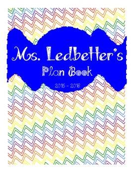 Plan Book Calendar