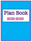 Plan Book Common Core Bundle- Guided Reading & Math Forms