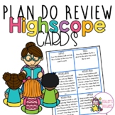 Plan/Do/Review Idea Cards (Highscope)