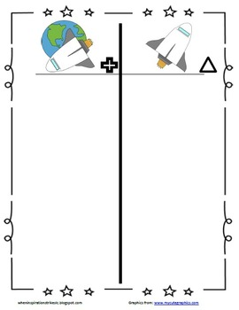 Plan, Do, Study, Act Board Space Theme Labels