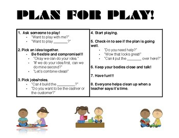 Plan For Play