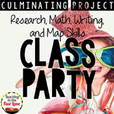 Plan Your Class Party: A Culminating Project