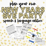 Plan Your Own NYE Party & More- Speech & Language Edition!