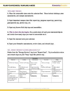 Plan Your School Year Like a Boss