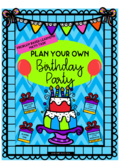 Plan a Birthday Party PBL Math Task