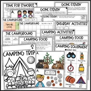 PBL Math Enrichment Project - Plan a Camping Trip