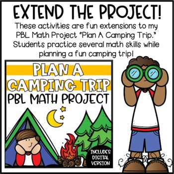 plan a camping trip writing add on camping trip journal by briana