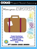 Plan a Eurotrip Project Based Learning
