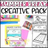 Plan Your Summer Break Writing Add-On: Disney Trip