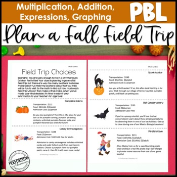 Project-based Learning: Plan a Fall Field Trip