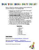 Plan a Party Math Project