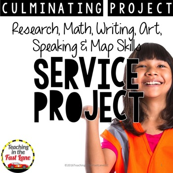 Plan a Service Project: A Culminating Project