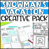 Plan a Snowman's Vacation Writing Add-On: Postcards from a Snowman