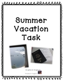 Plan a Summer Vacation (End of Year Real Life Math project)