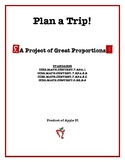 Plan a Trip! Currency Conversions Proportions Project