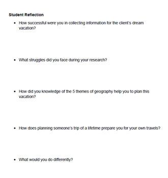 Geography - Middle School Social Studies/ELA PBL