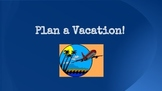 Plan a Vacation! Math Project