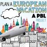 Plan a Vacation a Project Based Learning PBL Activity