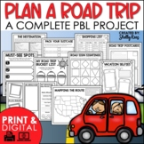 Plan a Vacation Project   Road Trip Math Project