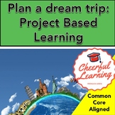 Plan a trip: Project Based Learning- Common Core Aligned
