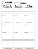 Plan book / Lesson Planner