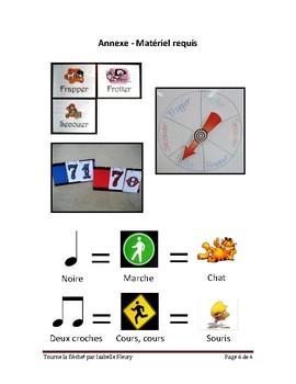 Plan de leçon - Tourne la flèche! - Musique 1er cycle