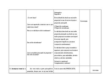 Plan de lectie inspectie grad