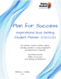 Plan for Success: Inspirational Goal Setting Student Plann