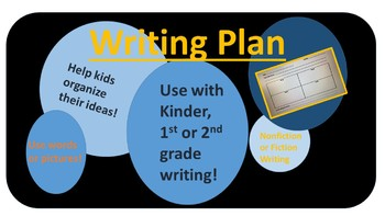 Plan for Writing